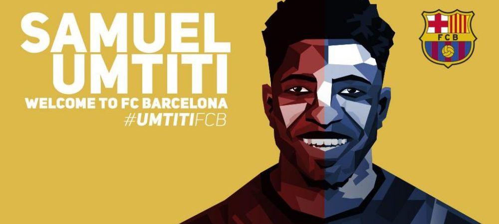 OFICIAL   Barcelona a confirmat transferul unui finalist al EURO: Umtiti semneaza pe 5 ani. Real Madrid a luat si ea decizia in cazul lui Morata: unde va juca atacantul