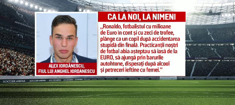 """""""Fotbalistii Romaniei abia asteptau sa iasa de la Euro ca sa ajunga la petrecerile cu alcool si femei!"""" Mesajul incredibil al fiului lui Iordanescu"""