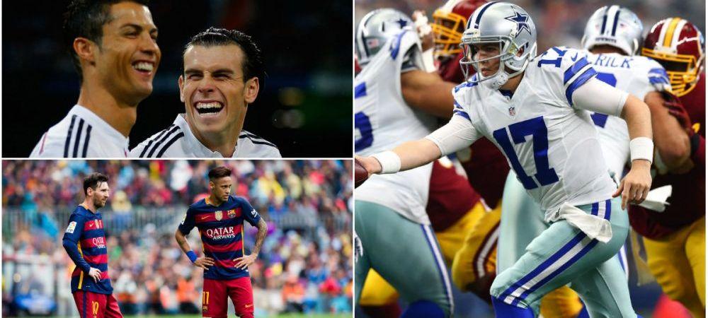Real Madrid si Barca, detronate in topul bogatilor. Cel mai valoros club din lume vine acum din NFL: americanii ocupa 7 din 10 pozitii