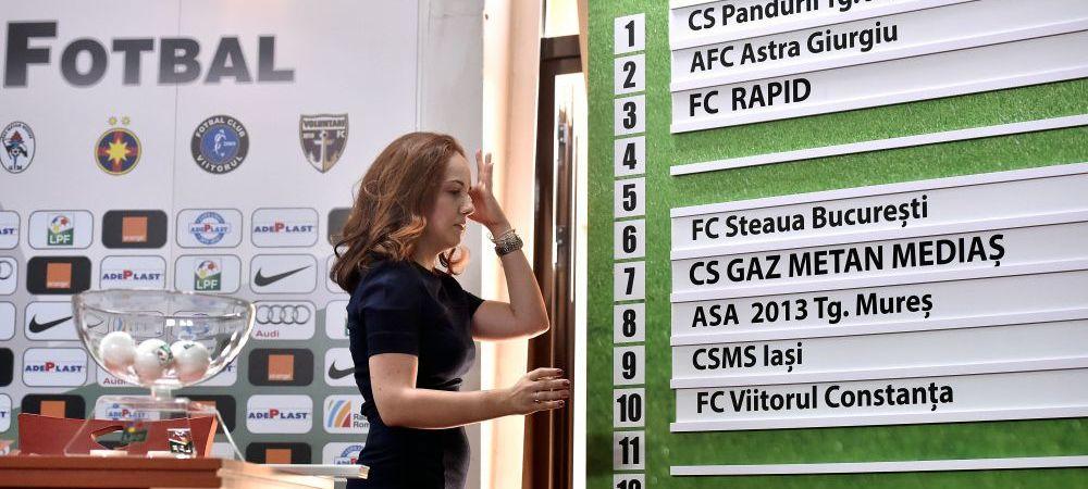 Hagi deschide noul sezon al Ligii I impotriva Voluntariului, Astra - Dinamo e derby-ul startului de campionat. Programul primei etape