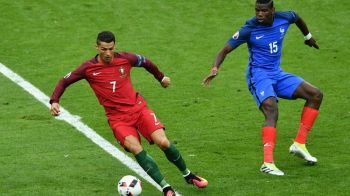 "Ronaldo i-a ""furat"" trofeul EURO, Pogba vrea sa-i dea si Balonul de Aur: ""Il merita, a castigat si Liga, si Campionatul European"""