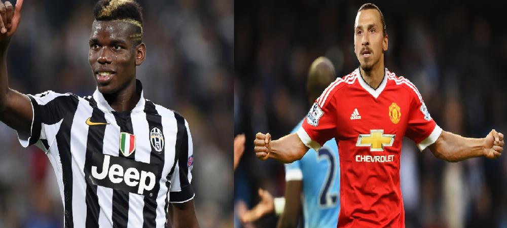 L-a convins Ibrahimovic pe Pogba sa vina la United? Cei doi au cinat la un restaurant din LA alaturi de sotiile lor