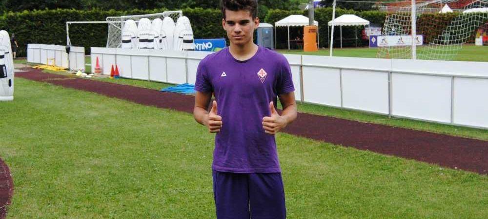 Asta a fost PREZENTAREA lui Ianis la Fiorentina! Superexecutie de la marginea careului, mingea a lovit bara! VIDEO