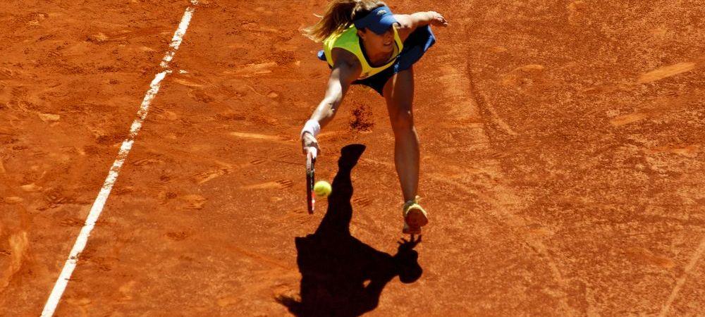 C-asa-i in tenis! Numarul 6 WTA se retrage pentru tot restul anului dupa ce a aflat ca este insarcinata :)