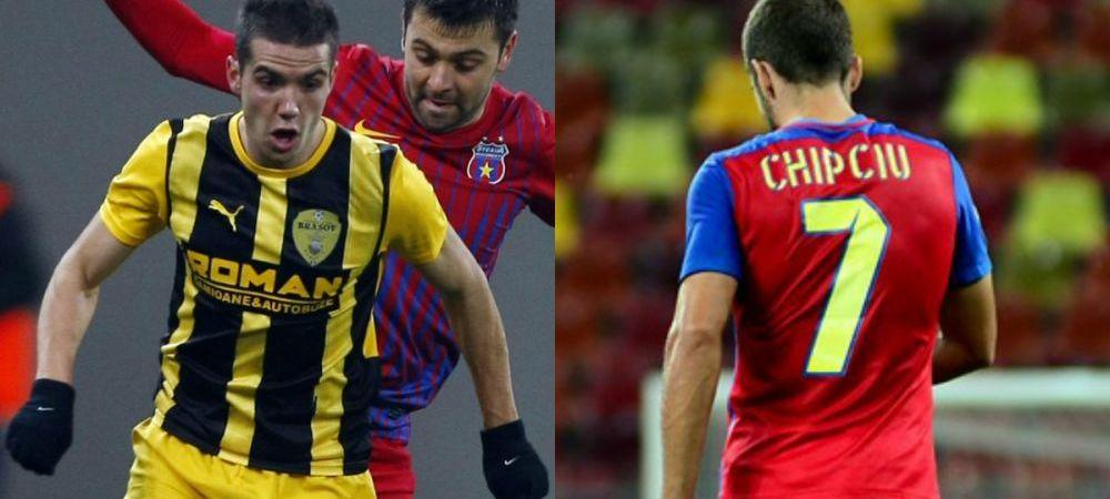 Transferul lui Chipciu o scoate pe FC Brasov din faliment? Fostul club incaseaza 750.000 de euro, adica 10% din datoriile clubului