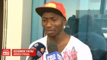 "Fatai a revenit in Romania la o zi dupa ce a aflat ca se va lupta cu Steaua in preliminariile Ligii: ""Sparta are avantaj"""