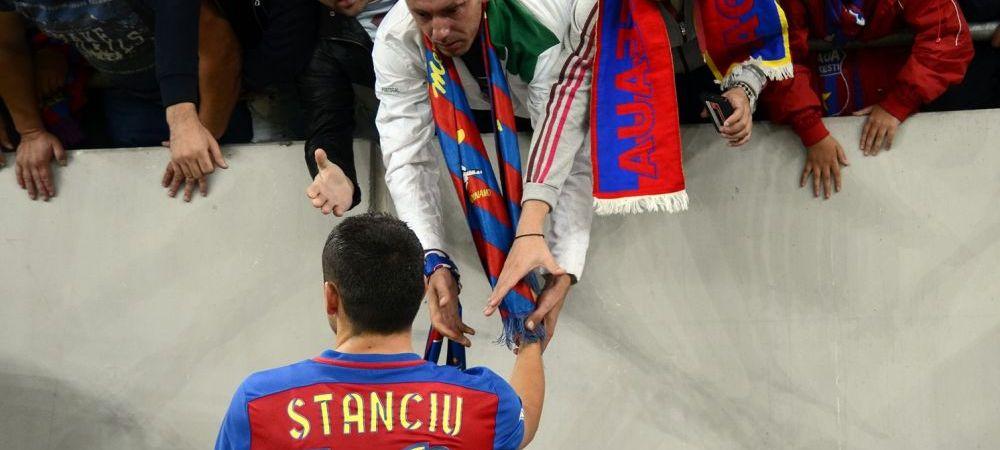 Stanciu e noul lider, dupa ce a primit banderola. E primul decar capitan la Steaua in ultimii 6 ani, si al doilea dupa Revolutie