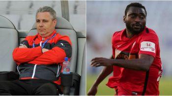 """Transferul lui Essombe la Astra a picat, dar Sumudica a rezolvat atacantul """"de Liga"""". Cu cine va ataca dubla impotriva danezilor de la Copenhaga"""