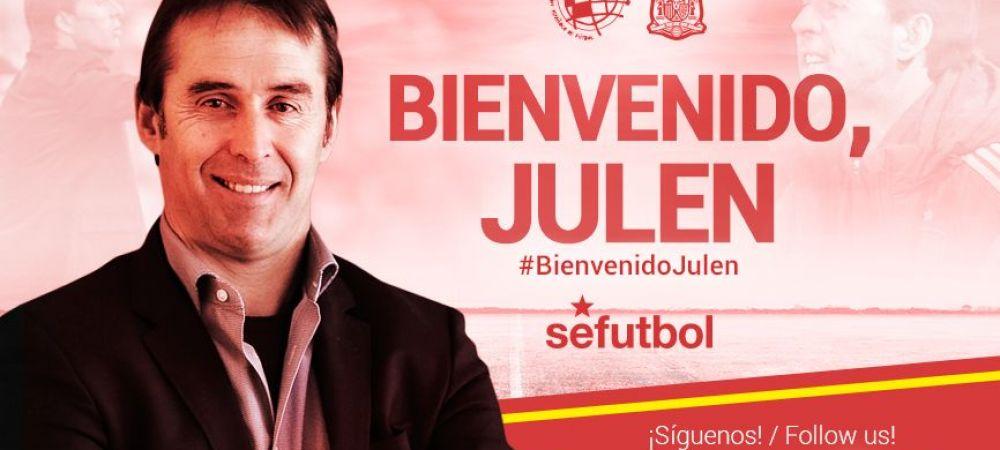Spania si-a ales selectionerul. Lopetegui e noul antrenor al nationalei