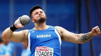 Atletul Andrei Toader rateaza Jocurile Olimpice, dupa ce a fost depistat pozitiv la controlul antidoping