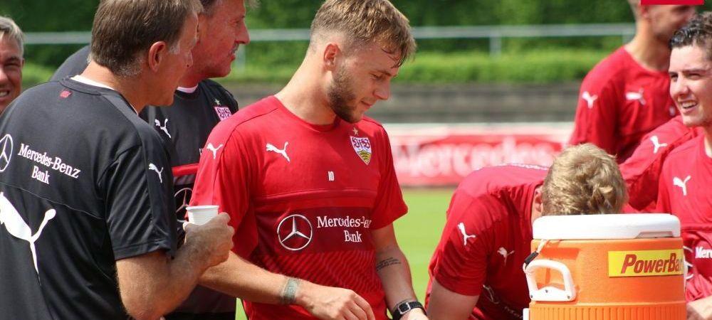 Gol Maxim pentru Stuttgart. Furtuna a oprit meciul cu Spartak Moscova la pauza