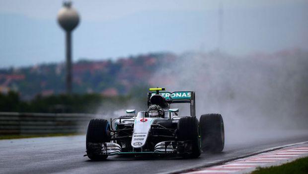 Nico Rosberg pleaca primul in Marele Premiu al Ungariei! Cum arata grila de start