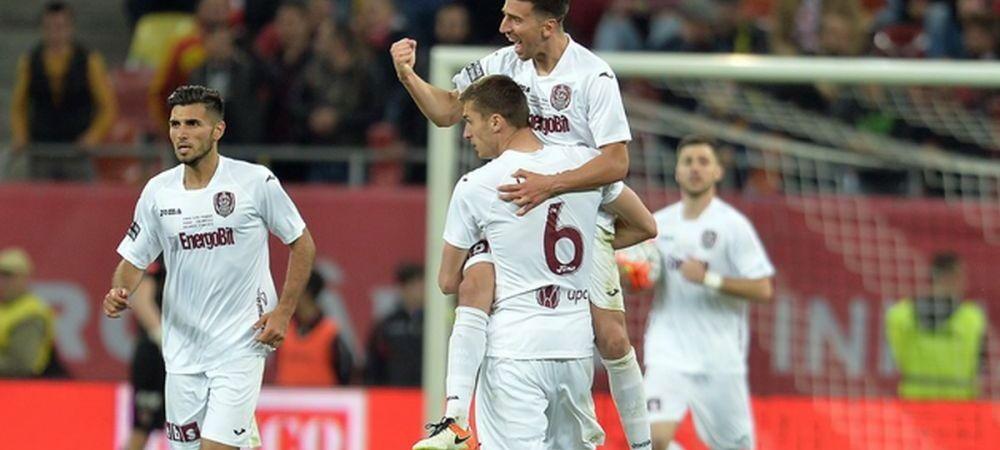 CFR Cluj 2-0 Concordia Chiajna! I-a lovit trenul: doua goluri marcate in 2 minute! Dinamo e lider in Liga I, dupa 4-1 cu Astra.