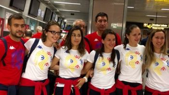GALERIE FOTO: Primii 15 sportivi ai Romaniei de la Jocurile Olimpice au plecat spre Rio! Promisiunea URIASA pentru o vara de AUR