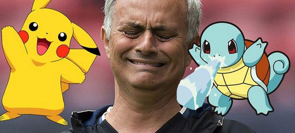 Prima echipa care INTERZICE Pokemon GO. Mourinho vrea concentrare totala inainte de partide la United