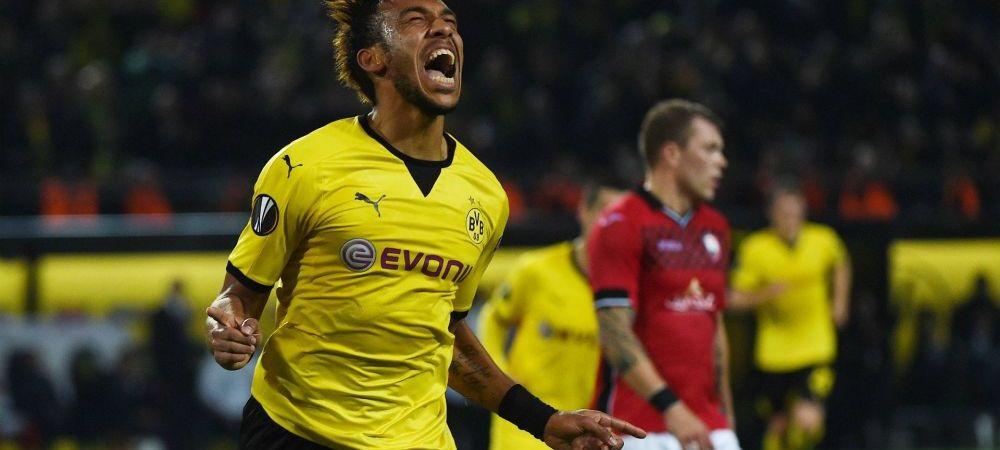 Pierre-Emerick Aubameyang rupe tacerea. Pentru ce club ar parasi-o pe Borussia Dortmund