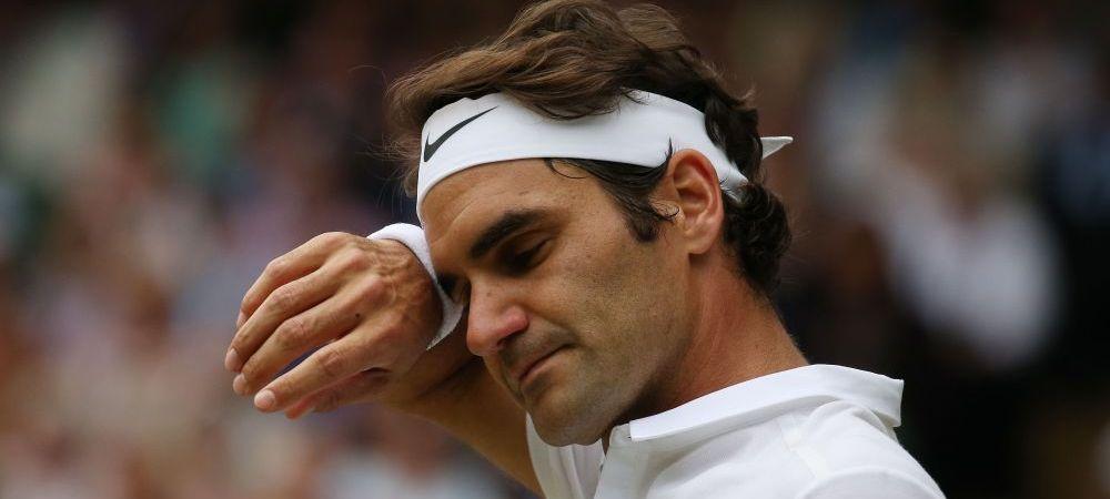 """""""Sunt extrem de dezamagit!"""" Federer nu mai joaca tenis pana in 2017. Anuntul ingrijorator facut de elvetian"""