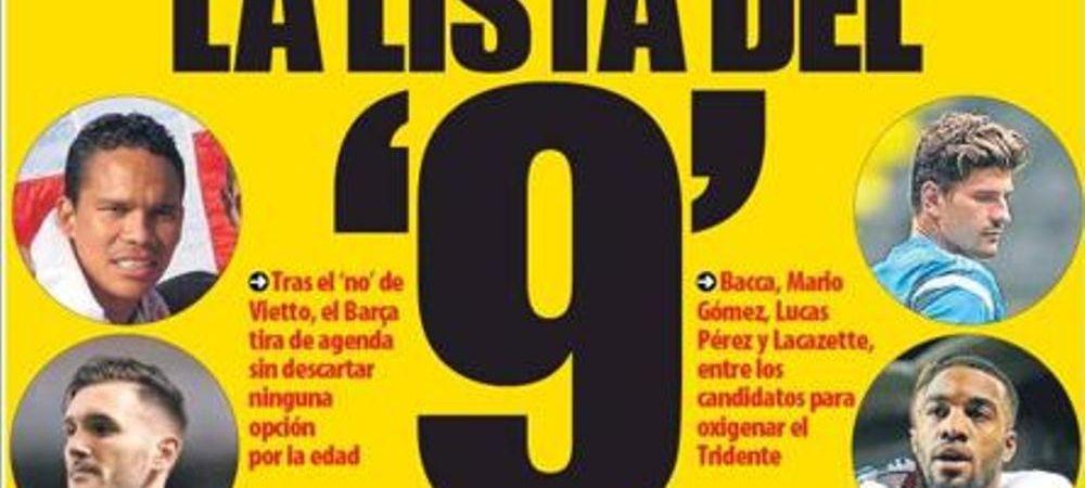 Cei 7 atacanti pe care nu i-ai fi vazut niciodata la Barcelona. Cum arata lista de transferuri pentru un nou numar 9