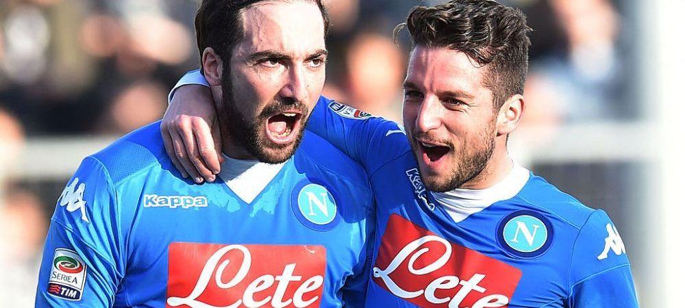 Ce atacant isi ia Napoli dupa plecarea lui Higuain: contract pe 5 ani, 30 de milioane de euro suma de transfer!