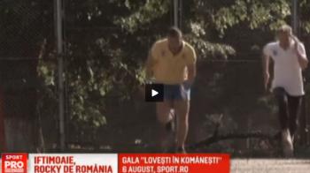 VIDEO: Iftimoaie se antreneaza ca Rocky pentru ultima lupta a carierei! Meciul de retragere e la Sport.ro, pe 6 august