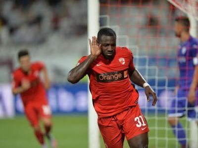 Dupa Paul Anton, Dinamo l-ar putea pierde si pe Gnohere! Cati bani vor sa ii dea arabii lui Negoita in schimbul golgheterului