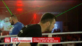 Luptatorul FOTOMODEL se bate pentru Morosanu! Ce provocare a acceptat Cozmanca