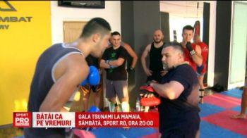 Doroftei a revenit in ring pentru a-l antrena pe omul care ii ia locul lui Morosanu. Gala de la Mamaia e sambata seara, de la 20:00, la Sport.ro