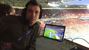 Euro din spatele microfonului. Ion Alexandru, jurnalul unui comentator de la Euro 2016. Experienta fantastica nevazuta la TV a unui turneu final