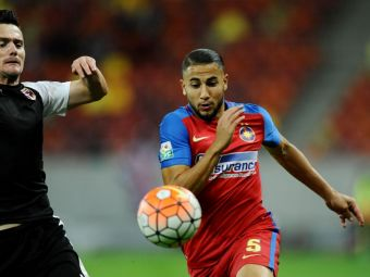 Culisele evadarii lui Hamroun de la Steaua: algerianul are probleme cu banii, iar contractul propus de arabi l-ar fi salvat