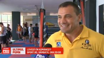 """Iftimoaie se pregateste pentru cel mai tare show din viata sa: """"Rocky"""" de Romania se bate pentru ultima oara sambata, de la 20:00, la Sport.ro"""