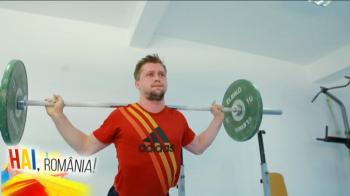 """HAI, ROMANIA   Povestea halterofilului roman care ridica 15 tone si se pregateste pentru o medalie istorica la Rio! """"Dupa antrenament te simti de parca ai fost batut!"""""""