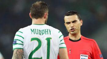 Hategan, pe lista arbitrilor pentru Cupa Mondiala din 2018! Arbitrul roman a condus doua meciuri la EURO