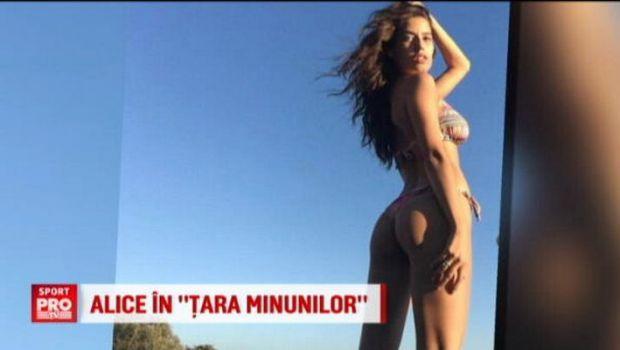 "O romanca va poza pentru Sports Illustrated in 2017: ""Irina Shayk de Romania"" le face concurenta Sharapovei si Anei Ivanovic   VIDEO"
