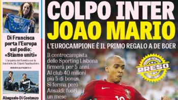 Primul transfer pe care De Boer il face la Inter! Campionul European pe care il aduce pentru 45 de milioane de euro