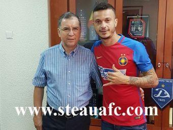 """FOTO OFICIAL! Boldrin e jucatorul Stelei: """"Sunt fericit ca am ajuns la un club mare din Europa"""" De Amorim, amanat pentru sambata"""