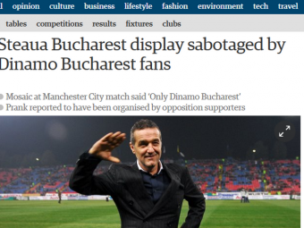 "Cele mai importante publicatii din Anglia, Italia si America scriu astazi despre coregrafia umilitoare: ""Ce insulta!"""