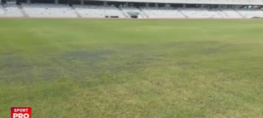"""Meciul cu Muntenegru, in pericol sa nu se mai joace pe Cluj Arena: """"Federatia are deja planul de rezerva!"""" VIDEO: Starea jalnica a gazonului dupa festivalul Untold"""