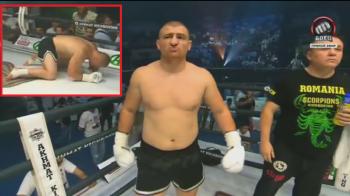 Morosanu a fost aseara in Cecenia si s-a batut cu Samedov, rusul care l-a invins pe Badr Hari! Si-a luat KO in prima runda! VIDEO