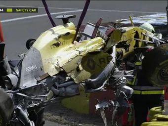 Rosberg castiga in Belgia si recupereaza puncte fata de Hamilton, dar etapa a fost umbrita de accidentul inspaimantator al lui Magnussen