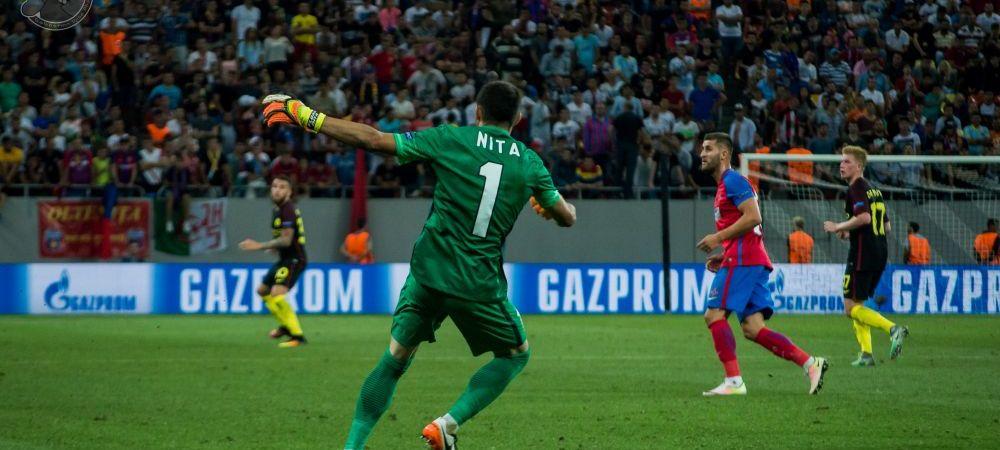 """""""Nita trebuie sa isi asume acest lucru, e in dezavantaj"""" Mesajul lui Daum, dupa ce Steaua nu si-a lasat portarul la lot"""