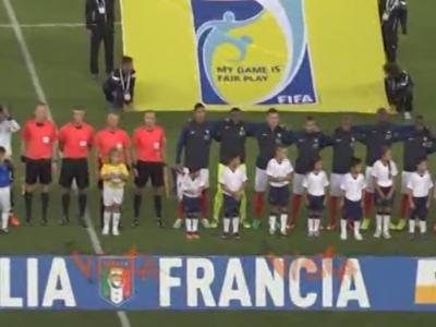 Gestul MINUNAT al lui Buffon a salvat Italia de la RUSINE! Ce a facut portarul Italiei cand a vazut ca fanii fluiera imnul francez