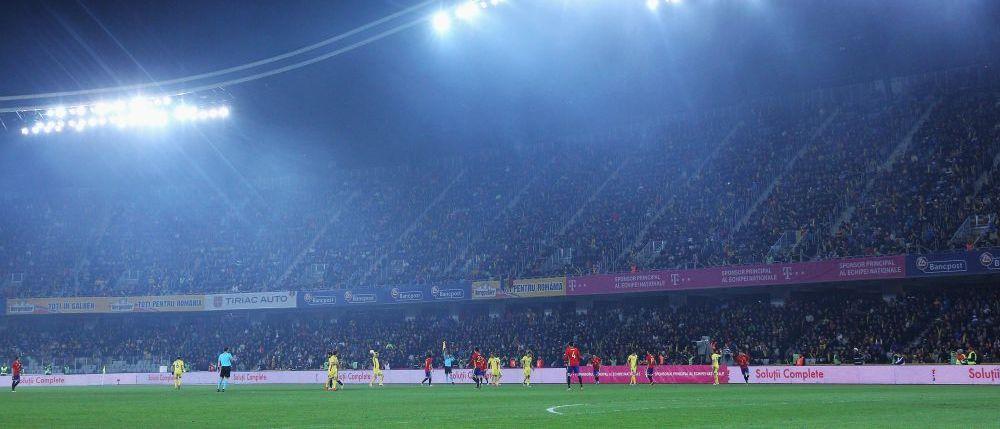 La o parte, se vopseste gazonul! Solutia la care au ajuns organizatorii meciului de la Cluj ca sa nu se vada PAMANTUL la meciul Romaniei