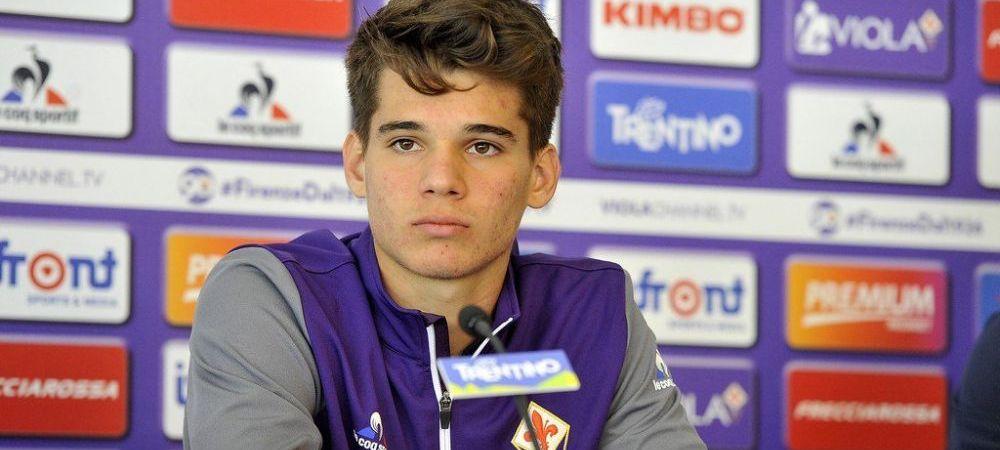 Ianis si-a ales numarul pentru acest sezon la Fiorentina! Cu cat joaca   Ce se intampla cu Tatarusanu