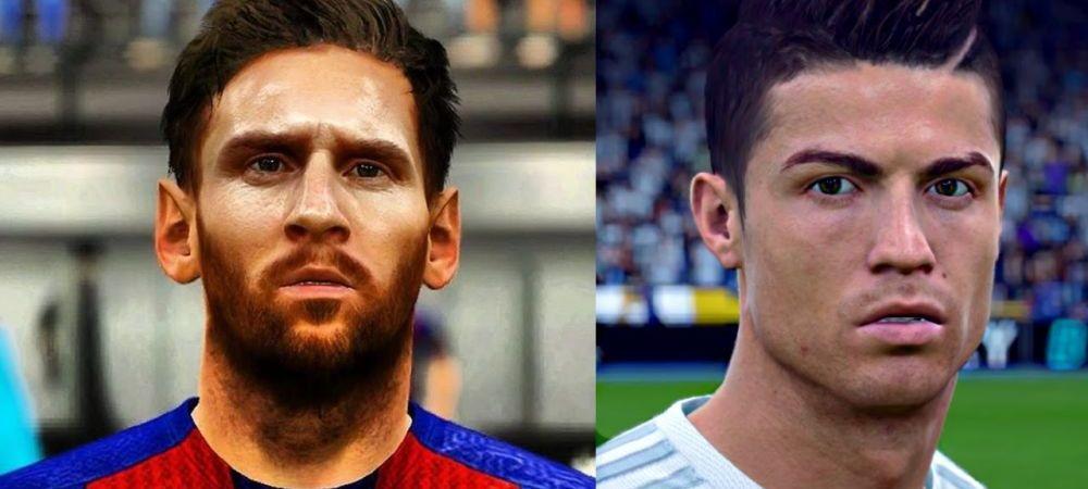 PREMIERA! Ronaldo, cotat mai bine ca Messi la FIFA! Fanii sunt nemultumiti de decizia luata de EA Sports