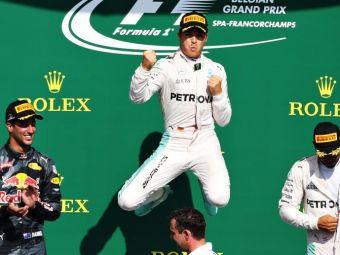 Prima victorie pentru Rosberg la Monza! Doar 2 puncte au mai ramas intre primii 2 clasati dupa Marele Premiu al Italiei