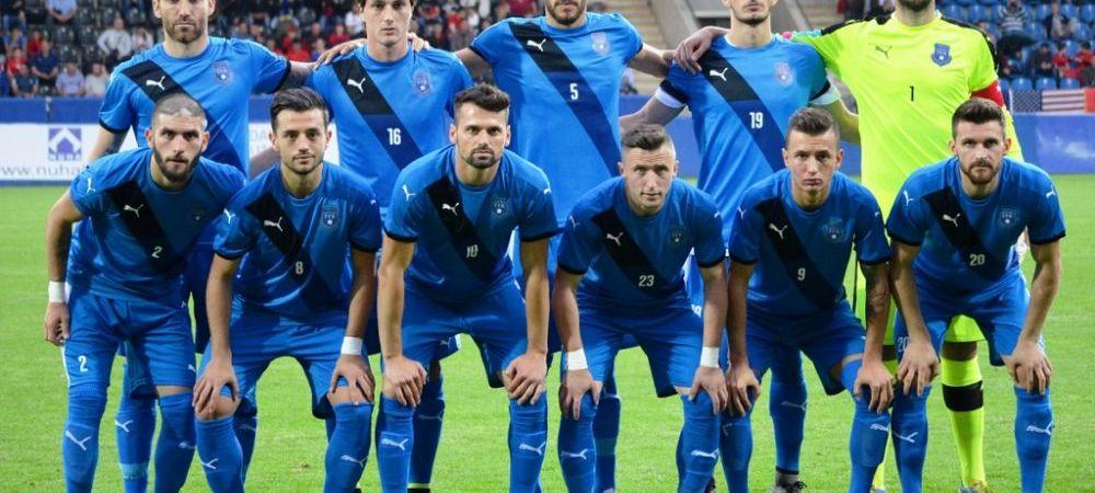 Nationala programata sa joace LUNI primul sau meci oficial din istorie nu are inca toti jucatorii: FIFA nu si-a dat acordul pentru 6 fotbalisti