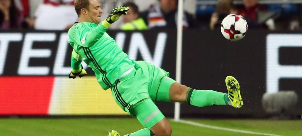 Doar Manuel Neuer :) Portarul libero s-a remarcat din nou cu un dribling imprumutat de la Cruyff. Ce a facut in meciul Germaniei cu Norvegia
