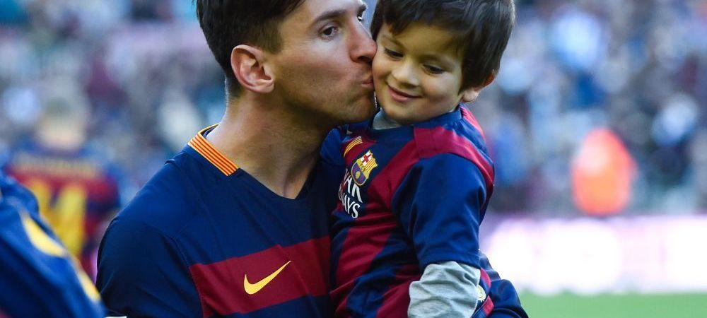 """Fotbalul nu va avea parte de Dinastia Messi: """"Fiul meu nu vrea sa joace fotbal, nu-i place"""". Ce spune vedeta Barcei despre retragere si care va fi ultima echipa din cariera sa"""