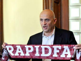 Incredibil: cu echipa in faliment, Moraru se foloseste de Rapid pentru a promova un partid POLITIC. Suporterii au luat foc si ii raspund cu un vechi slogan