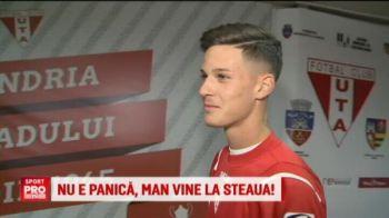 'Are calitatea sa se impuna!' Ce spune antrenorul lui Man despre posibilul sau transfer la Steaua